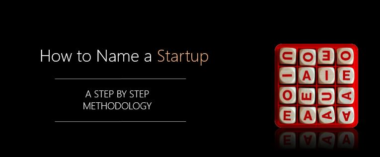 How to name your startup